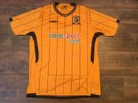 Global Classic Football Shirts  | 2009 Hull City Old Vintage Soccer Jerseys